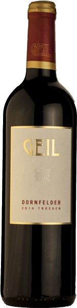 Weingut Geil Dornfelder Rotwein trocken 2017