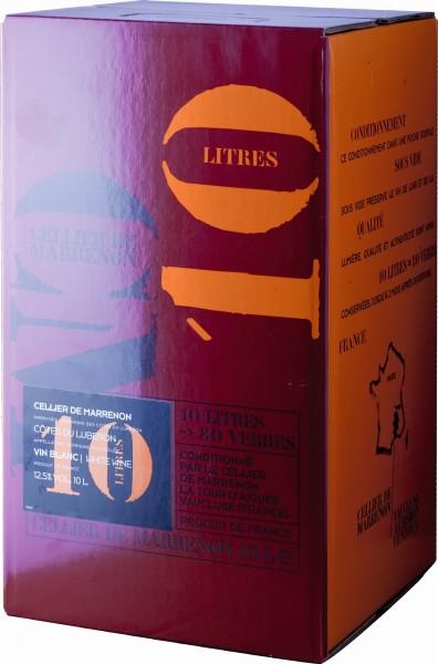 Weisswein von Marrenon im 10 Liter Weinschlauch