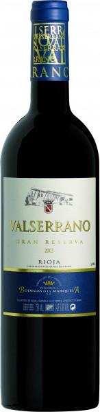 Marquesa Valserrano Rioja Gran Reserva Rotwein 2012