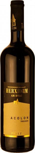 Herxheimer Acolon trocken 2014 im Holzfass gereift