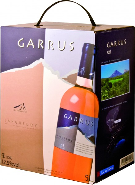 Coteaux du Pic Grand Rosé Provence AOP Weinschlauch 5 Liter