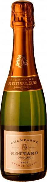 Champagner Moutard Grande Cuvée Brut Halbe Flasche