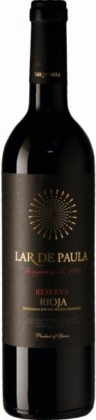 Lar de Paula Reserva Rotwein Rioja 2012