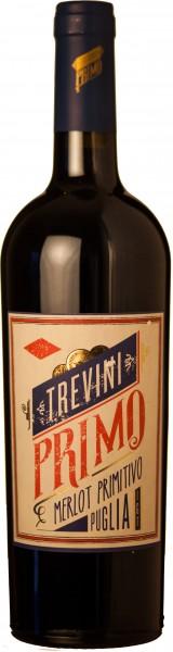 6 Flaschen Trevini Rotwein Italien Primitivo Merlot IGT 2017