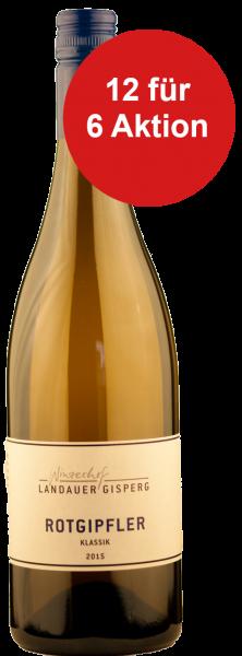12 für 6 Aktion! Weingut Landauer Rotgipfler Weisswein Östereich 2017