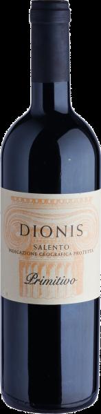 Due Palme Dionis Salento Primitivo Rotwein Apulien 2016