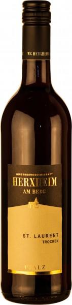 Herxheimer Saint Laurent Rotwein trocken 2016 Herxheimer Honigsack