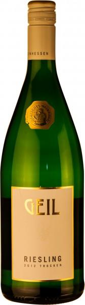 Geil Riesling trocken 2018 Qualitätswein Liter