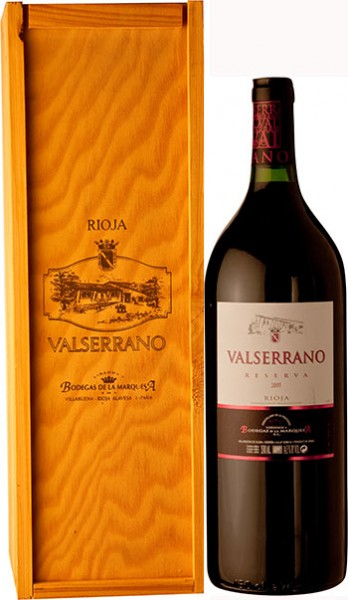 Marquesa Valserrano Reserva Rioja Rotwein Magnum