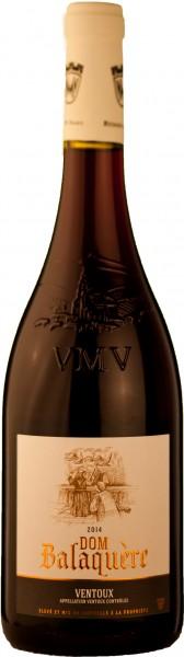 Vigneron Mont Ventoux Rotwein Cuvée Bedoin Dom Balaquere 2015 AOC