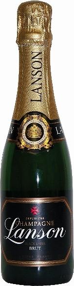 Lanson Champagner Black Label Brut Halbe Flasche