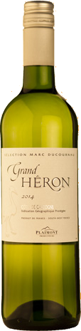 Vigneron Plaimont Grand Heron Blanc Weisswein Gascogne VDP 2020