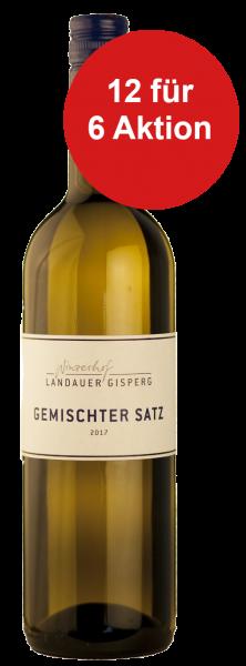 12 für 6 Aktion! Weingut Landauer Weisswein Gemischter Satz 2017/18