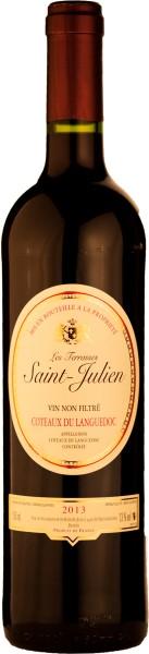 Catalan Saint Julien Jes Terrassa Rotwein unfiltriert DS