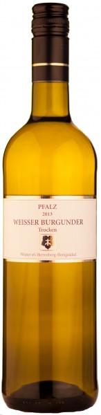 Winzer Herrenberg Weißer Burgunder Weisswein Pfalz trocken 2018
