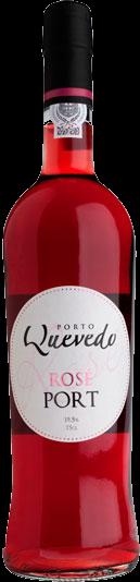 Quevedo Portwein Rosé 19,50% 0,75 L.