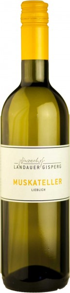 Weingut Landauer Gispert Weisswein Muskateller lieblich