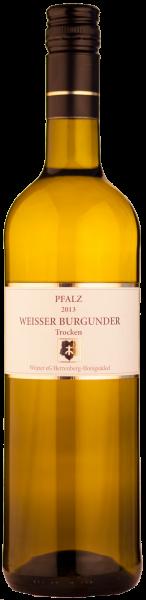 Winzer Herrenberg Weißer Burgunder Weisswein Pfalz trocken 2019