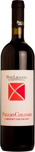 Pepi Lignana Cabertnet Sauvignon Poggio Colombi Rotzwein der Toskana