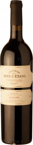 Château Mire L`Étang La Clape Reserve Rotwein AOC 2016