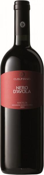Cusumano Rotwein Sizilien Nero d´Avola IGT 2018