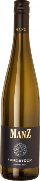 12 Flaschen Weißwein Riesling Fundstück Manz Rheinhessen