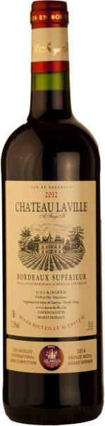 Château Laville Tradition Barrique Bordeaux Supérieur Rotwein AOC 2016